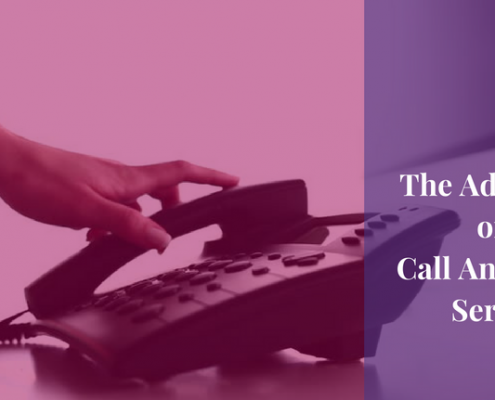 benefits of call answering