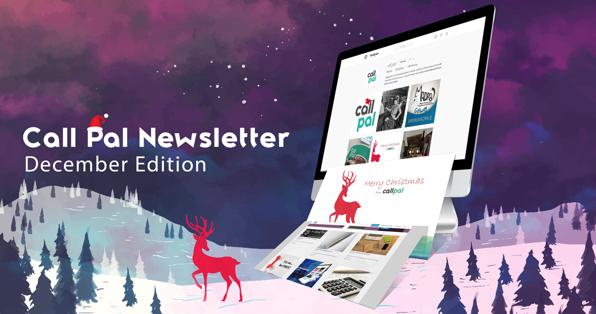 Call Pal December Newsletter