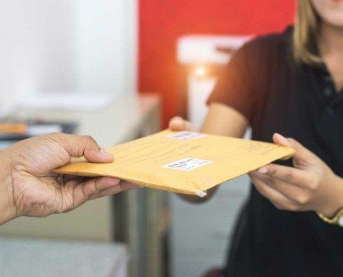 mail address service ireland