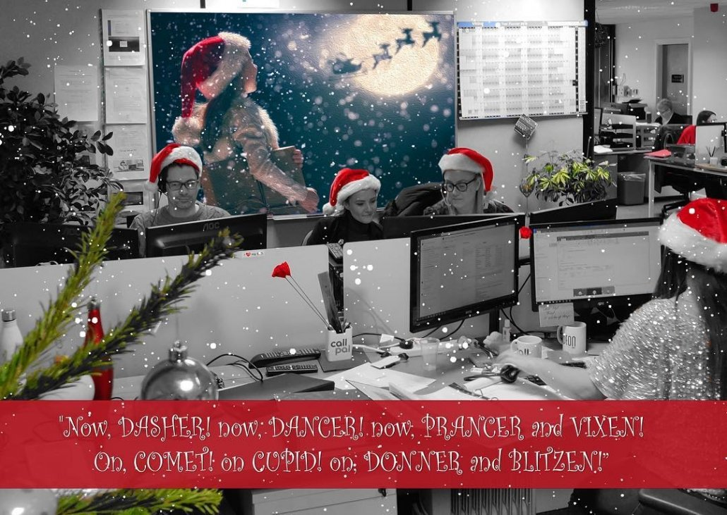 Christmas at Call Pal