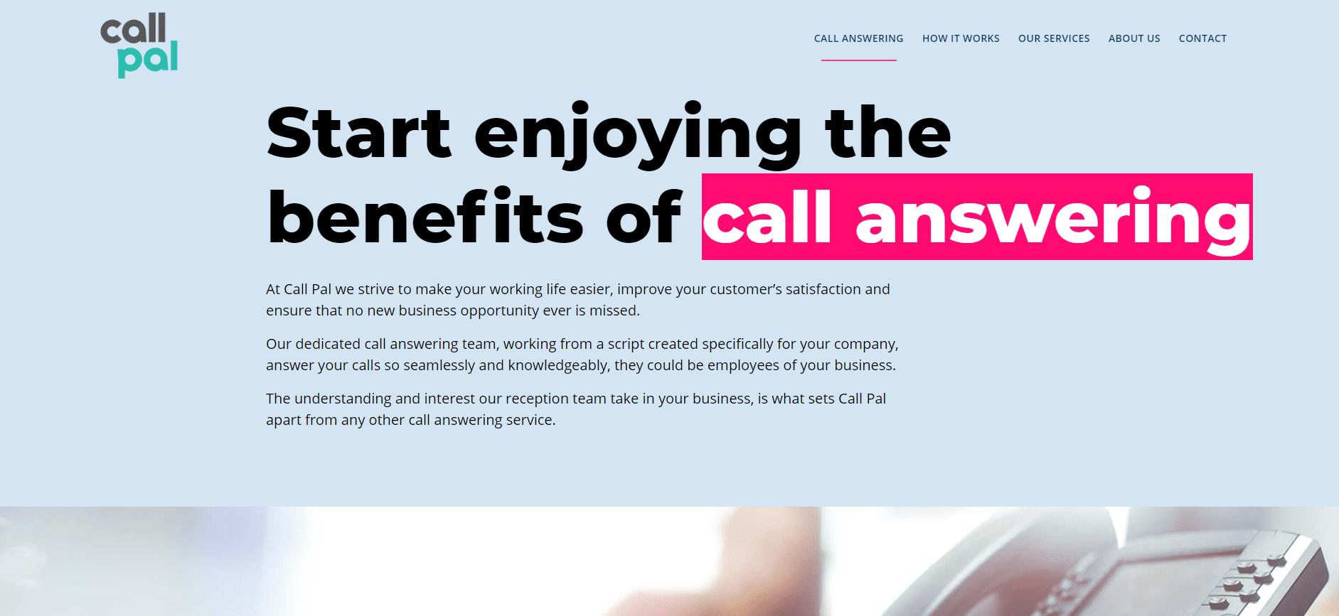 call pal website